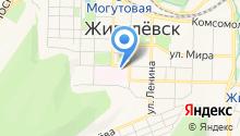 Центральная городская больница на карте