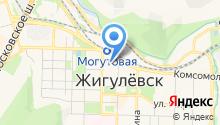 Виллана на карте