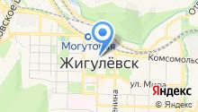 Жигулёвское бюро путешествий на карте
