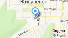 ГИБДД г. Жигулёвска на карте