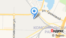 Самарский на карте