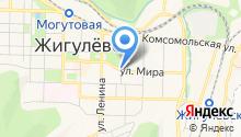 Мастерская по ремонту обуви на ул. Мира на карте