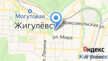 Ирбис на карте