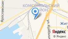 Транзит-тур на карте