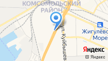 Магазин стартеров и генераторов на карте