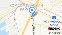 АЗС ТНПС на карте