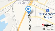 На Куйбышева на карте