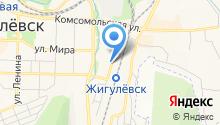 Жигулёвское со дна на карте