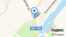 АЗС на Обводном шоссе на карте