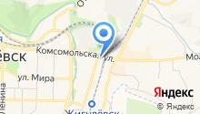 Шиномонтажная мастерская на Вокзальной на карте