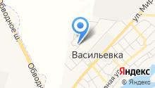 Баскон на карте