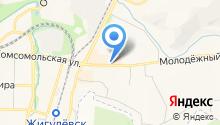 Жигулёвский хлебозавод на карте