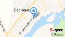 Ставропольское райПО-Васильевка на карте