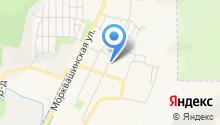 Продуктовый магазин на ул. Репина на карте