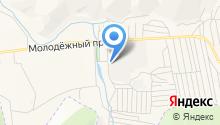 Августов на карте
