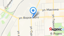Loveлас на карте