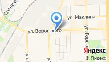 Ярмарка Меда на карте