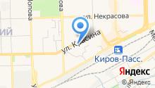 Hotel Kirov на карте