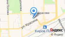 Hotel relax на карте
