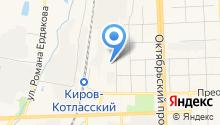 207-207 на карте