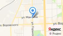 Наедине на карте