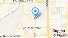 Acro-Fit на карте