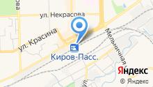 Отделенческая клиническая больница на ст. Киров на карте