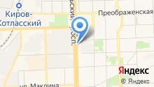 GPS-ГЛОНАСС-навигация на карте
