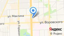 COSMOS на карте