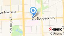Modern на карте