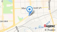 Управление социальной защиты населения в г. Кирове на карте