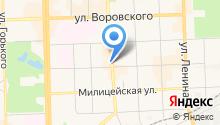Anser на карте