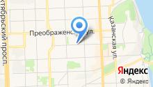 Ярмарка на Московской на карте
