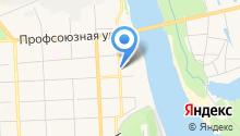 Газпром межрегионгаз Киров на карте