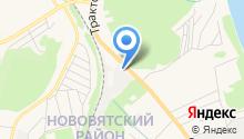 Нововятское дорожное управление №6 на карте