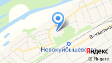 Новокуйбышевское лесничество на карте