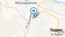 НСК на карте