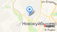АЗС-М на карте