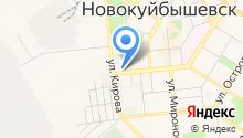 Новокуйбышевский кожно-венерологический диспансер на карте