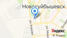 Новокуйбышевский гуманитарно-технологический колледж на карте