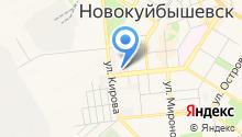 Новокуйбышевскгоргаз на карте