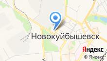 Пригородная автостанция на карте
