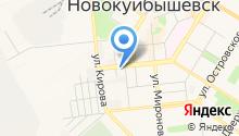 Новокуйбышевский медицинский колледж на карте