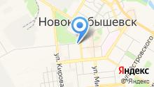 Овал-Х на карте