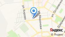ИДК на карте