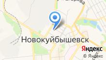Самараторгтехника, ЗАО на карте