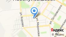 Отдел здравоохранения на карте
