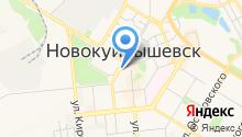 Муниципальный Фонд поддержки малого предпринимательства и социально-экономического развития г. Новокуйбышевска на карте
