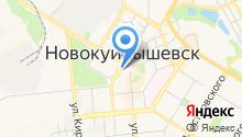 Прокуратура г. Новокуйбышевска на карте
