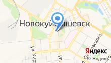 Администрация городского округа Новокуйбышевск на карте